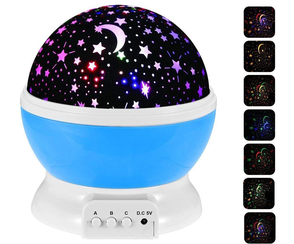 The ZJQY starry night light projector