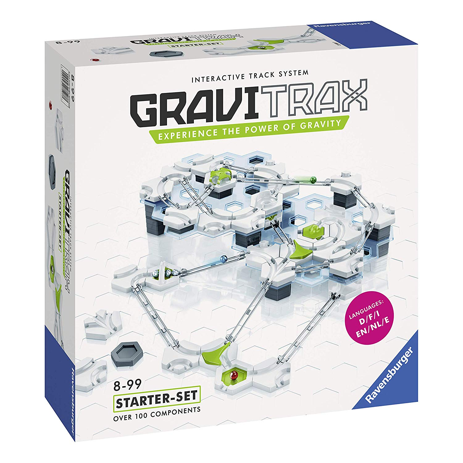 Ravensburger gravitax marble run and stem toy