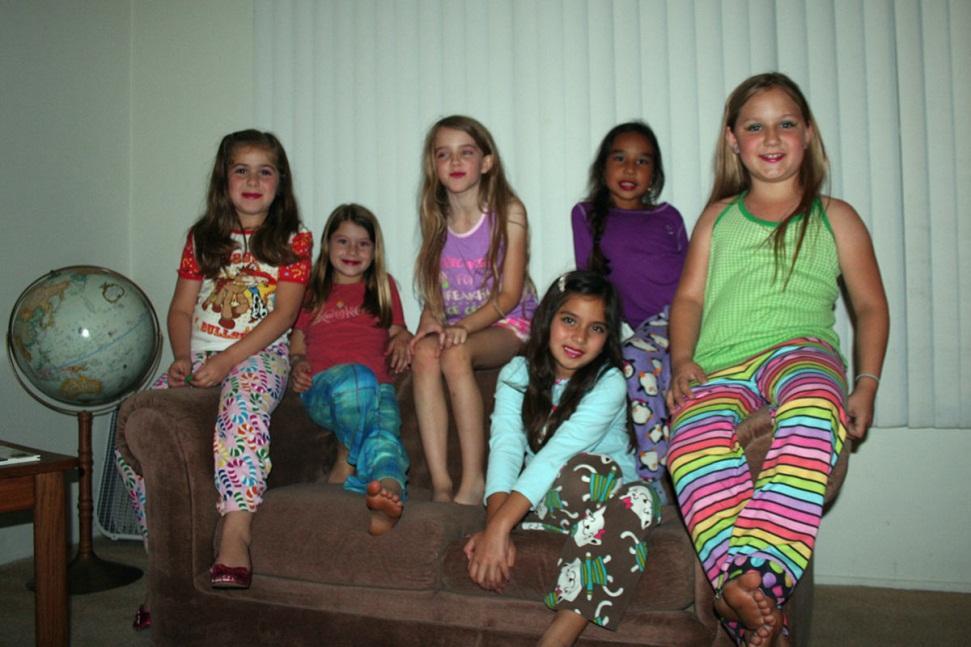 night pancake and pajama party