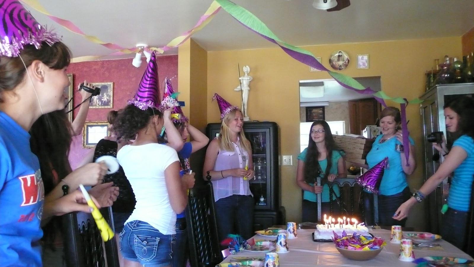 Plan out a surprise party