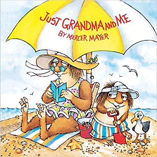 Just grandma and me little critter picture book
