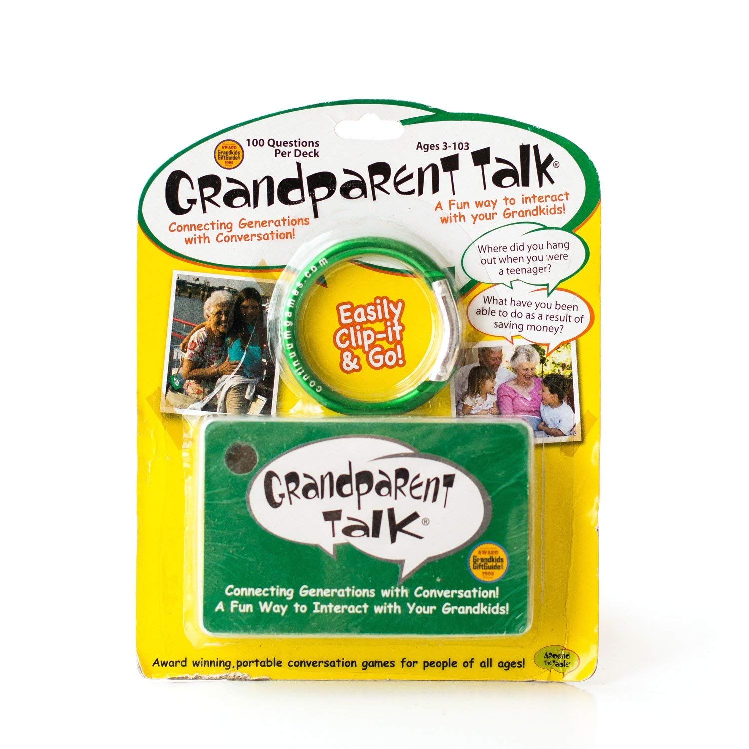 Grandparent talk conversations fun cards
