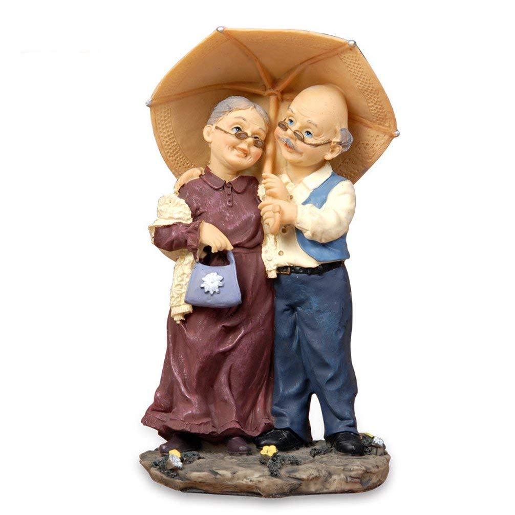 Dreams eden loving elderly couples figures