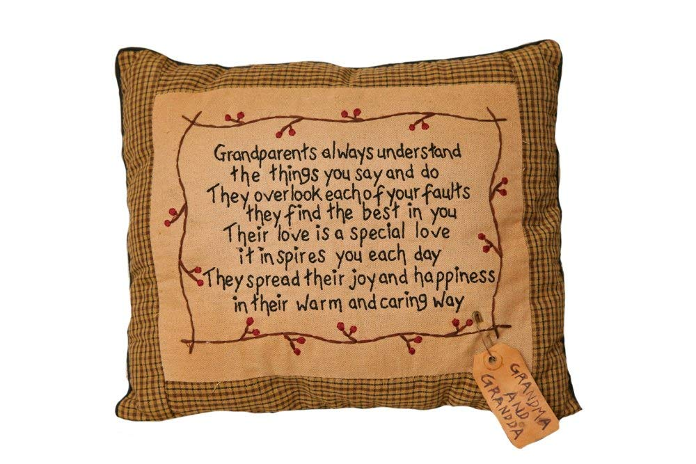 Your heart's delight stitchery pillow