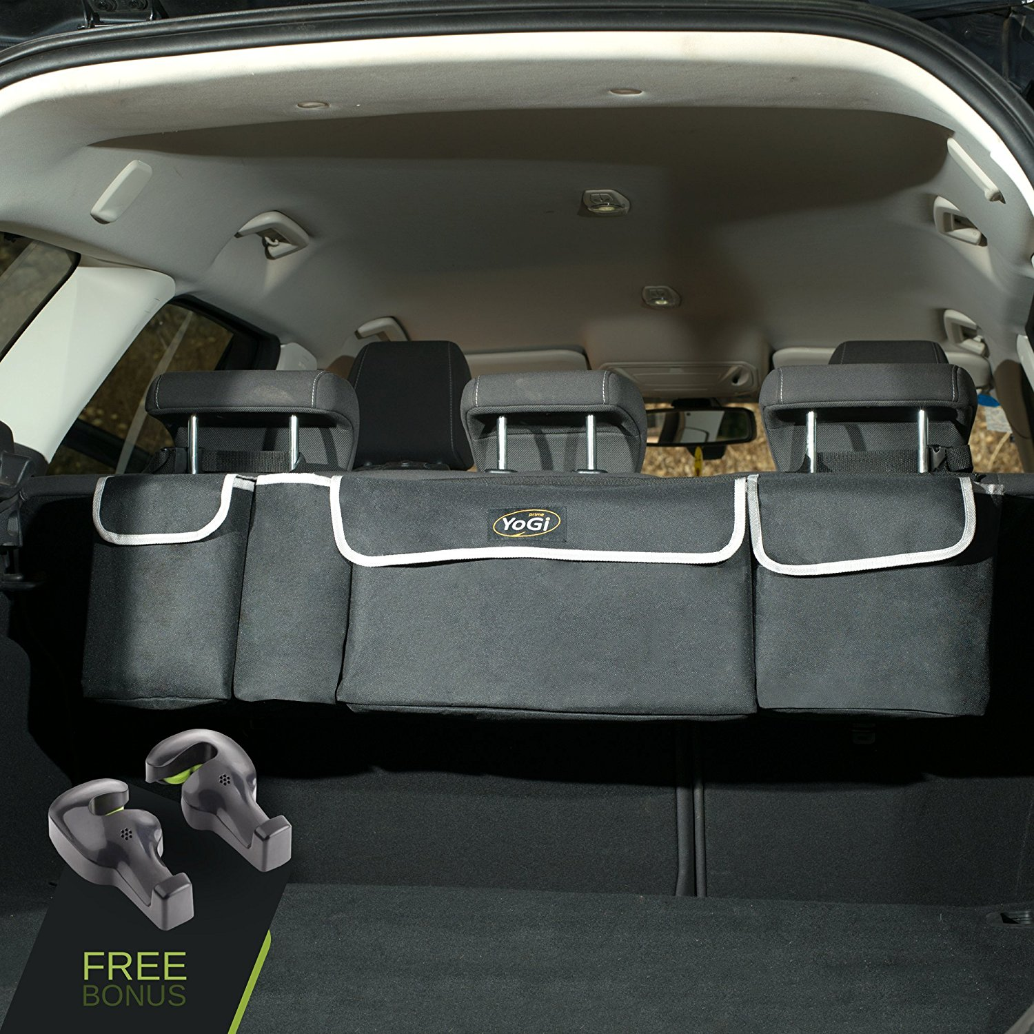 YoGi prime trunk and backseat car organizer