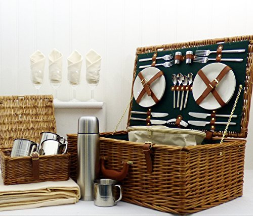The Chelsea luxury picnic basket set