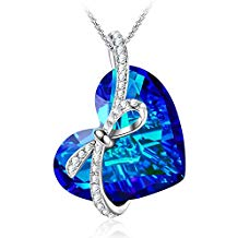 The love sapphire pendant