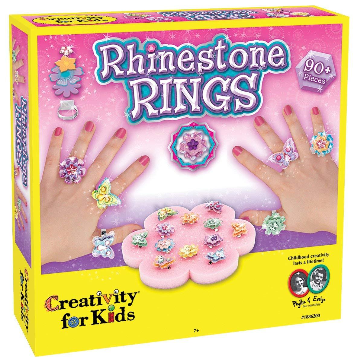 Rhinestone ring making kit