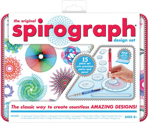 Kahootz spirograph design tin set
