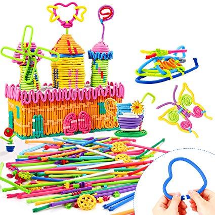 Straw Block Toy Sets