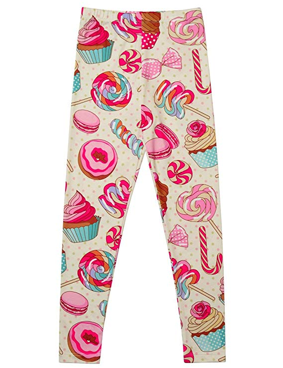 Unicorn Printed Jegging gift for 12 year old girl