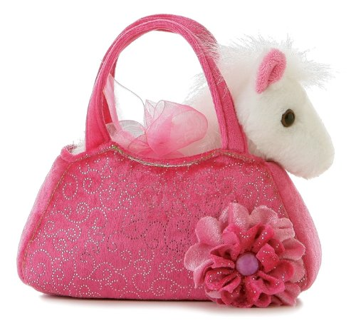 Pink Purse With A Sweet Pony