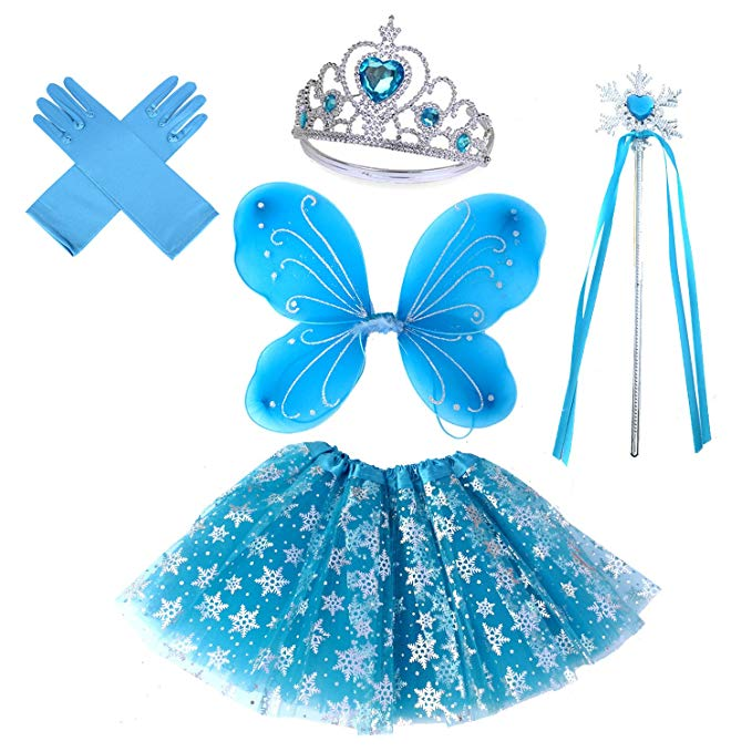 Fairytale Costume With Wands Set