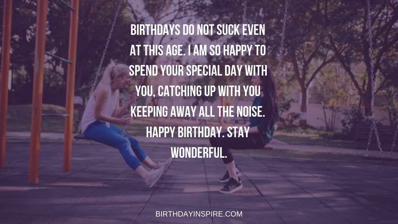 Amusing Birthday Message For Best Friend Female From A Guy