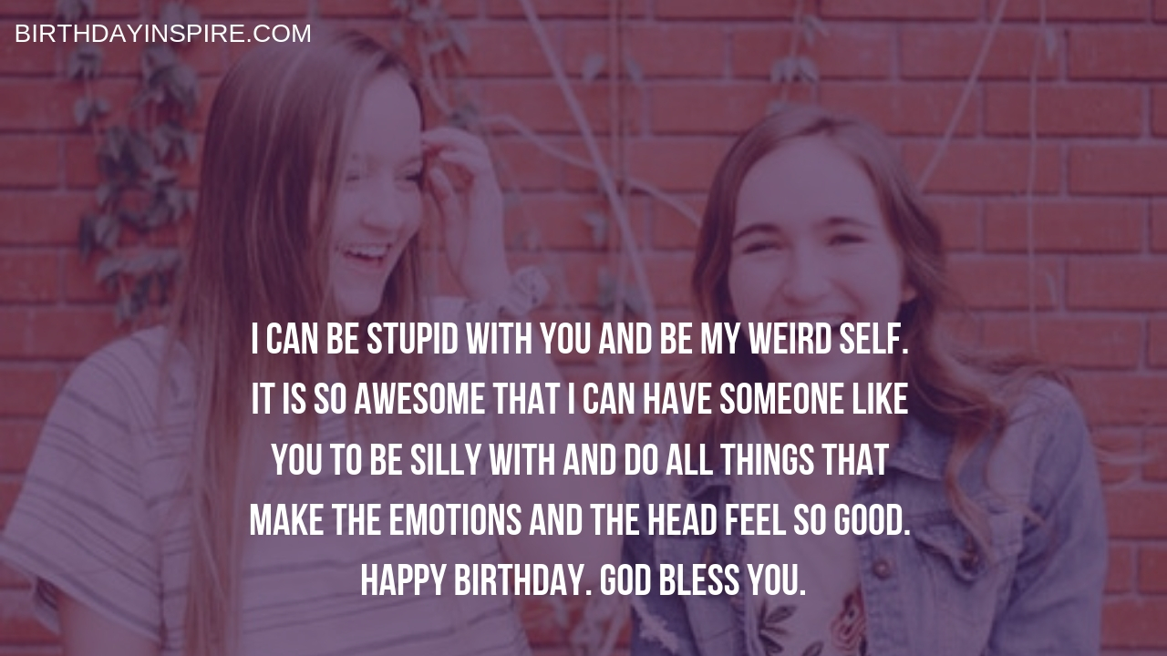 Birthday Greetings For Female Best Friend