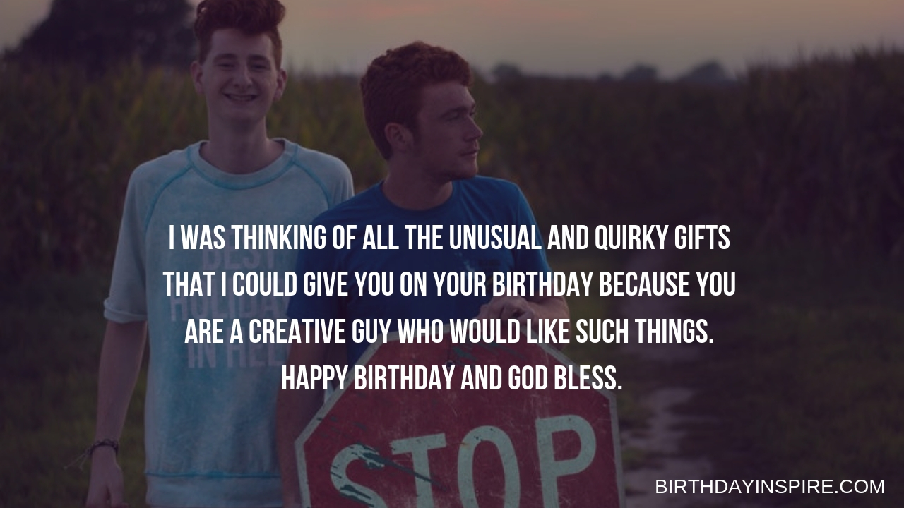 Funny Birthday Wishes for Best Male Friend