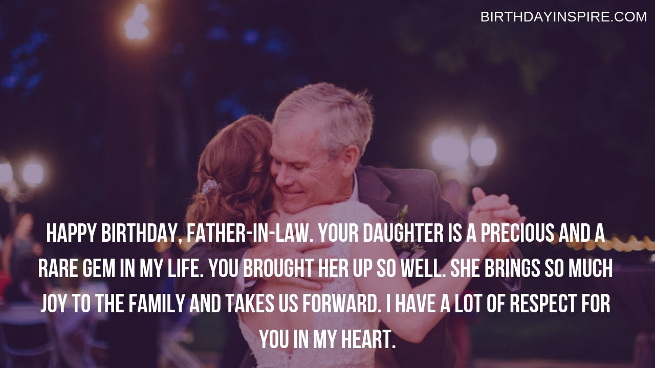 Funny Birthday Quotes For Father-in-law