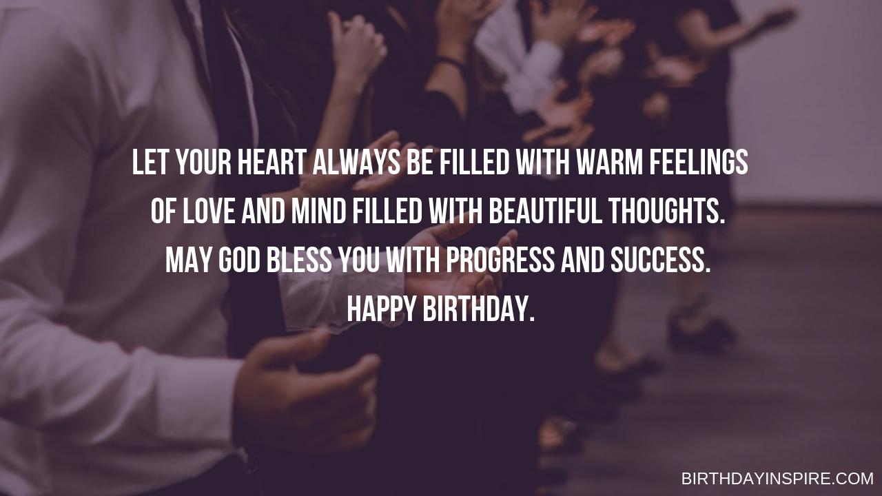 Heartfelt Religious Birthday Messages
