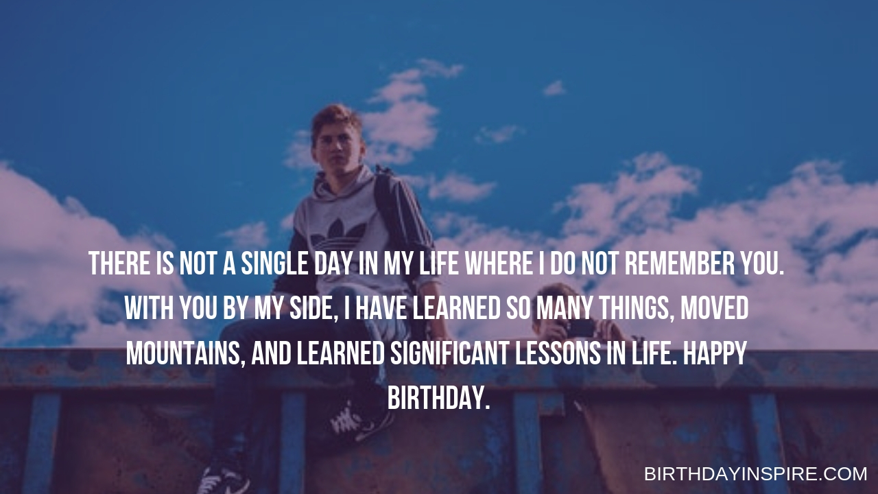 Sentimental Birthday Quotes For a Special Friend