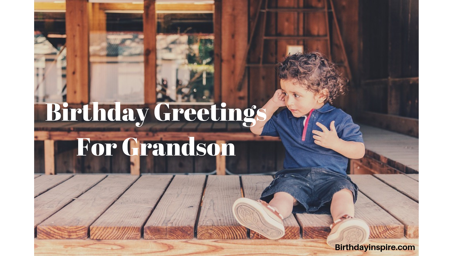 birthday greetings for grandson