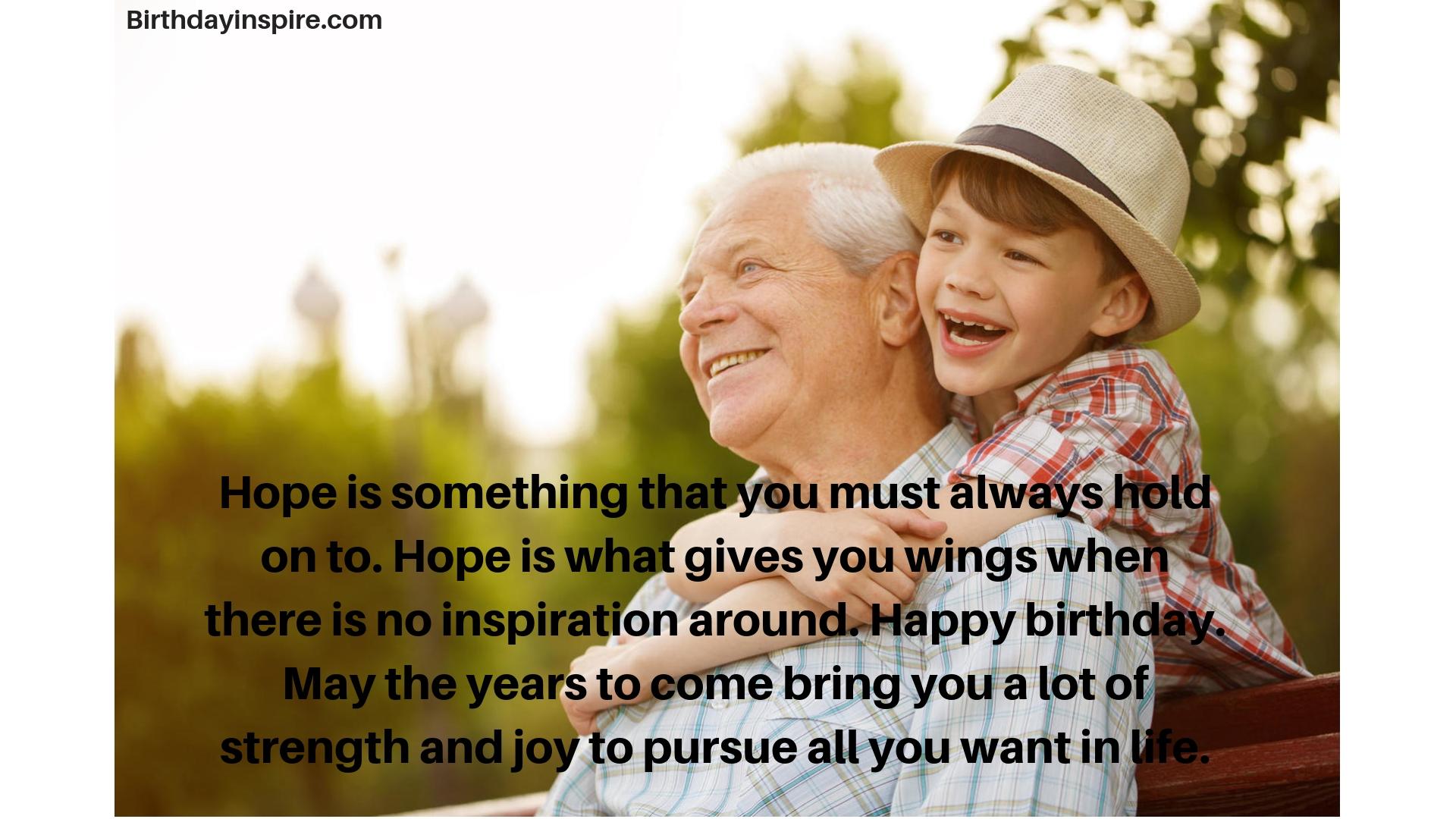 birthday message for grandson