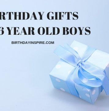 BIRTHDAY GIFT FOR 6 YEAR OLD BOY
