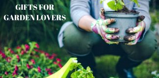 GIFTS FOR GARDEN LOVERS