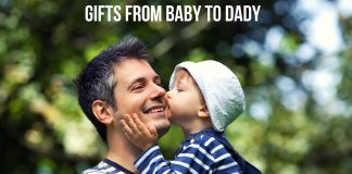 GIFTS FROM BABY TO DADY