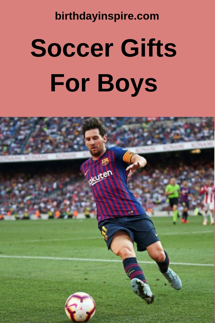 Soccer Gifts For Boys