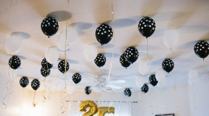 25th birthday party ideas
